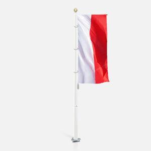Flaga Polski pionowa